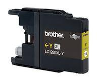 Brother+LC-1280XLY+YELLOW+INK