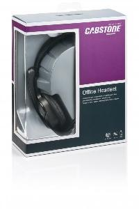 Audio%2C+Headset+Cabstone+ultraleichtes+Office-Headset+mit+schwenkbarem+Mikrofon